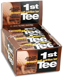 1st Tee Pre Round Golf Nutrition Bars (12 Pack)