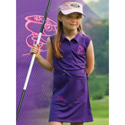 The Littlest Golfer Performance Dress