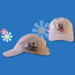 The Littlest Golfer Tournament Cap - Girls