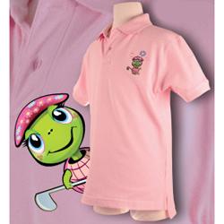 The Littlest Golfer Tour Polo - Girls