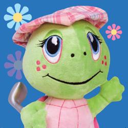 The Littlest Golfer Sandy Plush Toy