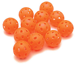 Golf Wiffle Ball Practice Balls (12 Pack)