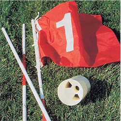 Hole 'n One Flag Stick