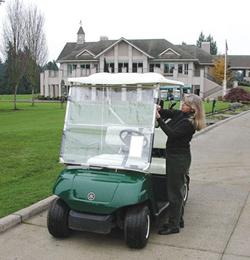 CartShield Golf Cart Windshield