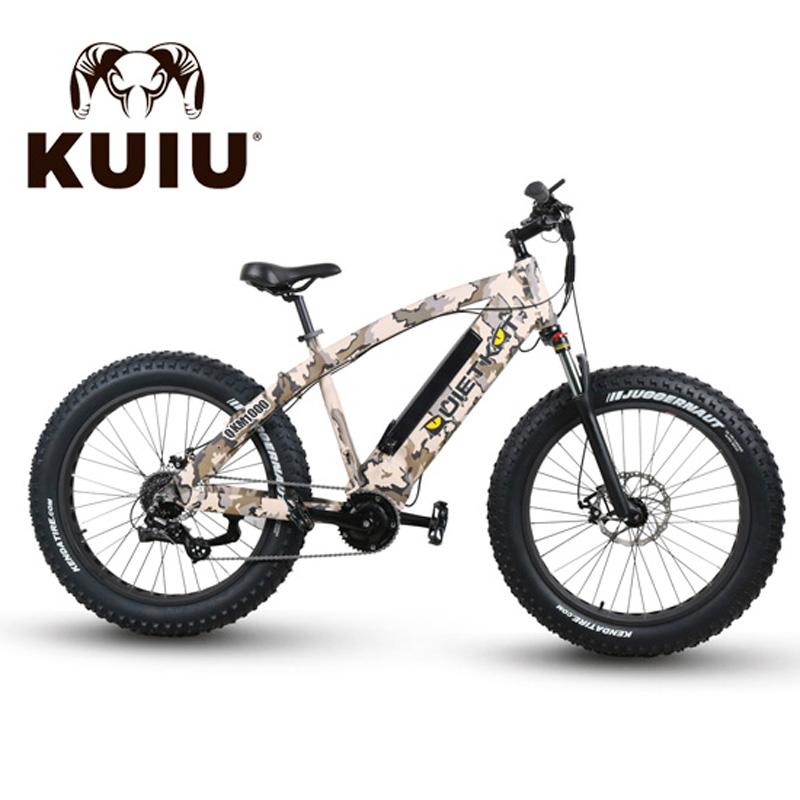 QuietKat FatKat Warrior Electric Fat Tire Bicycle - QKM1000 - Camo