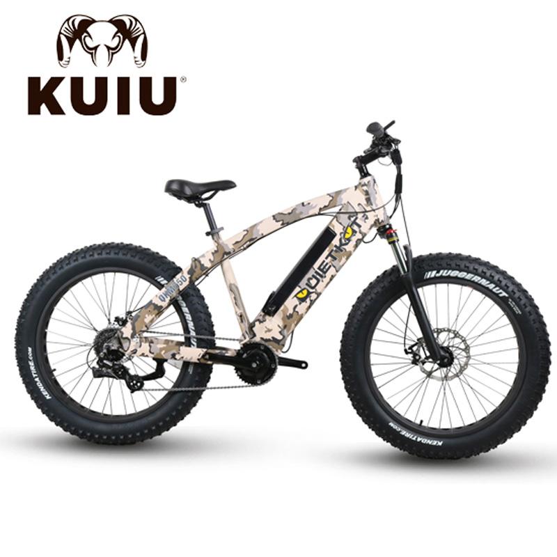 QuietKat FatKat Ambush Electric Fat Tire Bicycle - QKM750 - Camo