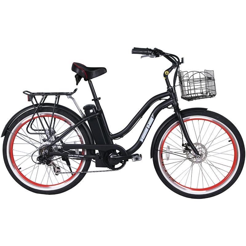 X-Treme E-Bike Malibu Step Thru Electric Bicycle - Black