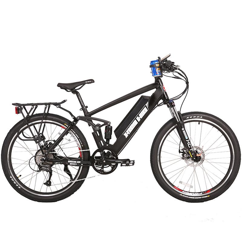 X-Treme E-Bike Rubicon 48V Electric Bicycle - Black