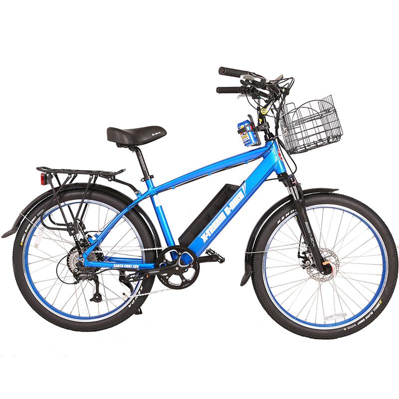 X-Treme E-Bike Laguna Beach 48V Electric Bicycle - Blue