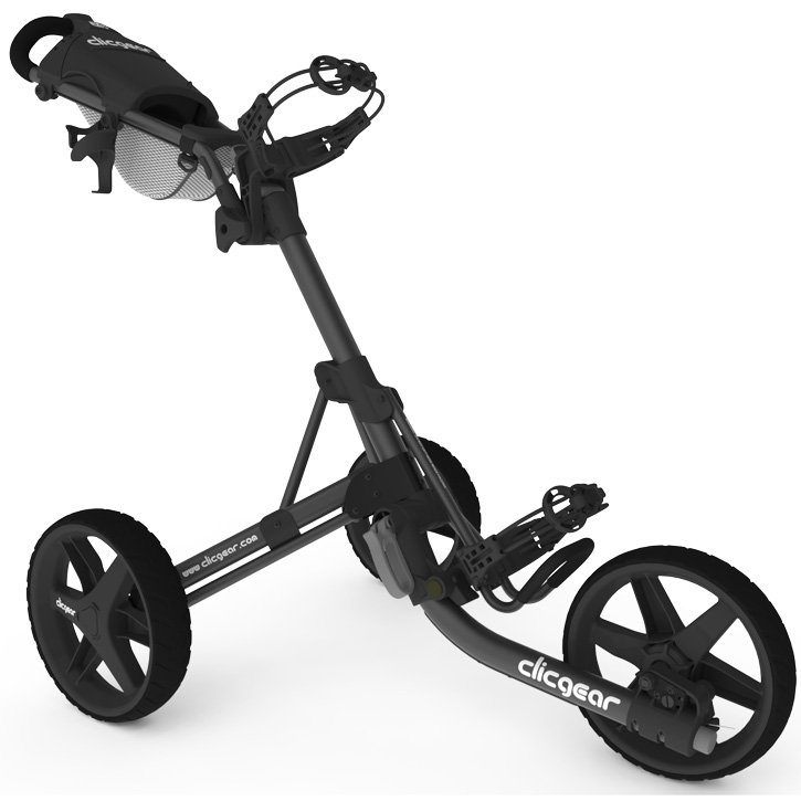 Clicgear 3.5+ Golf Push Cart , Charcoal/Black