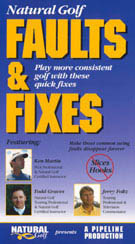 Natural Golf -- Faults and Fixes