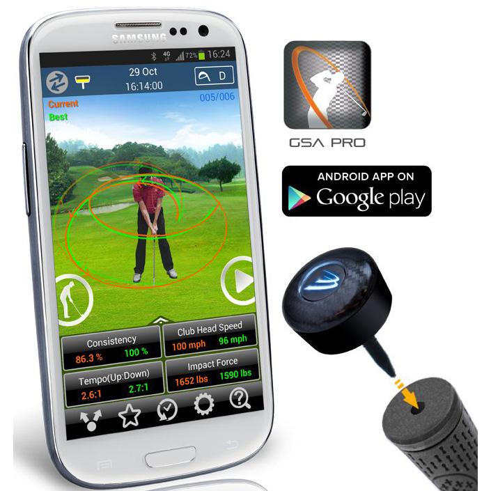 3 Bays Gsa Pro Golf Swing Analyzer Android New