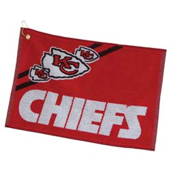 Kansas City Chiefs  16 X 24 Jacquard Towel