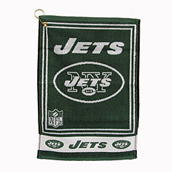 New York Jets 16 X 24 Jacquard Towel