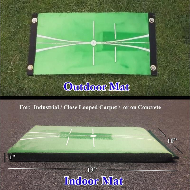 AcuStrike Golf Training Mat - Indoor/Outdoor