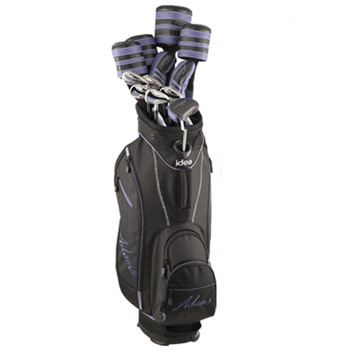 Adams Golf New Idea Complete Set - Womens BlackBerry