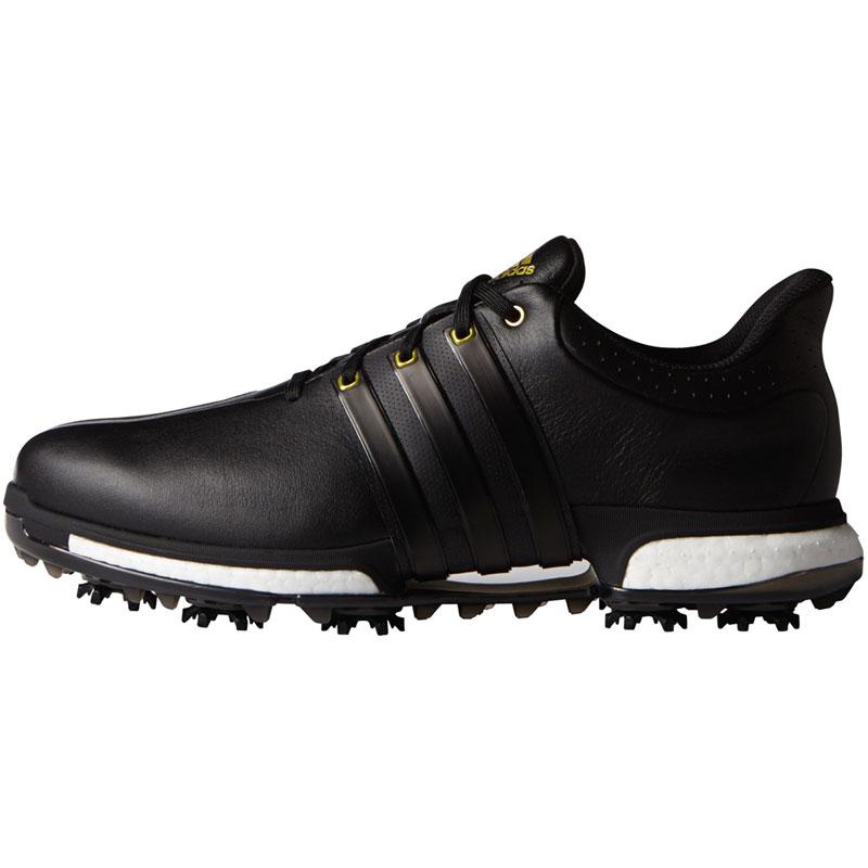 2016 Adidas Tour 360 Boost Golf Shoes - Black/Gold