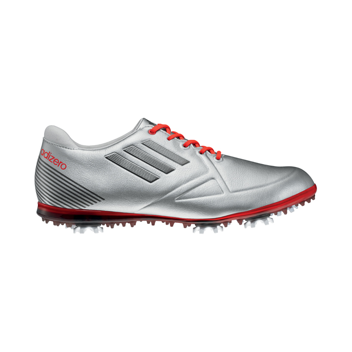 Adidas adizero Tour Golf Shoes - Womens Silver/White/Coal