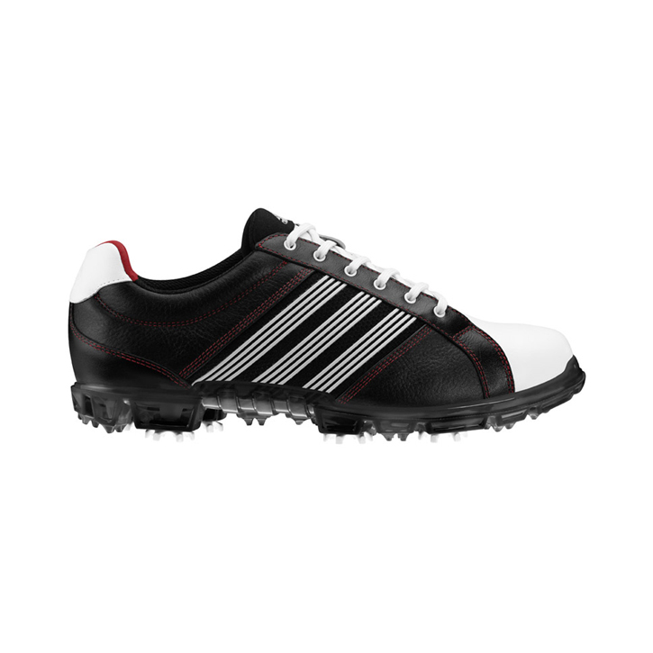 Adidas adicross Tour Golf Shoes - Mens Wide Black/White/Red