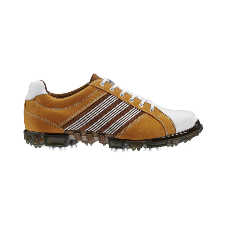 Adidas adicross Tour Golf Shoes - Mens Wheat/White/Leather