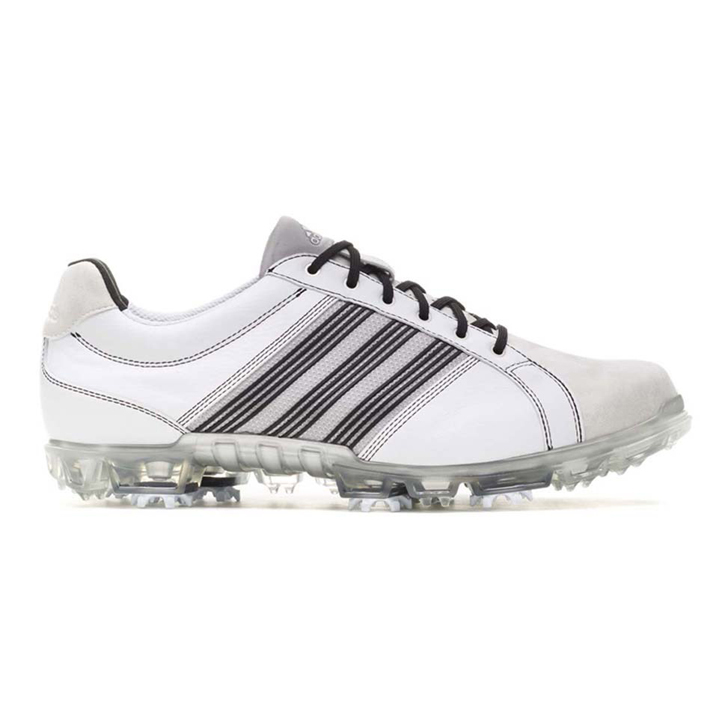 Adidas adicross Tour Golf Shoes - Mens Wide White/Aluminum/Black
