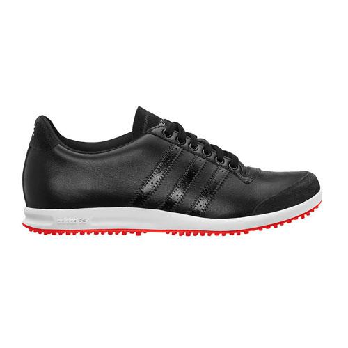 Adidas 2012 adicross donne scarpe da golf bianco / rosso / nero