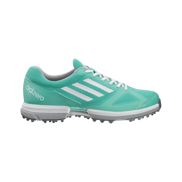 Image of Adidas adizero Sport Golf Shoes - Womens Green/Green
