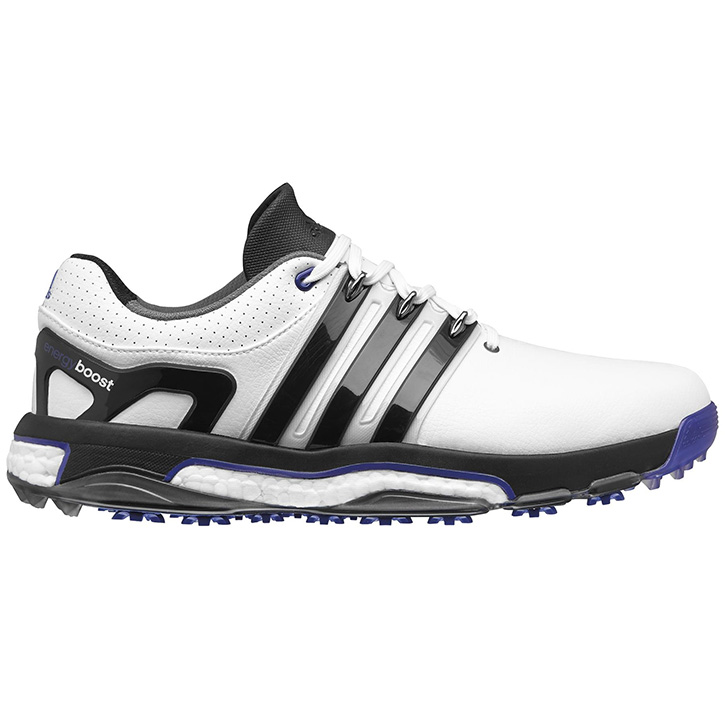 Adidas asym Energy Boost Golf Shoes - LH - White/Black/Night Flash at  InTheHoleGolf.com