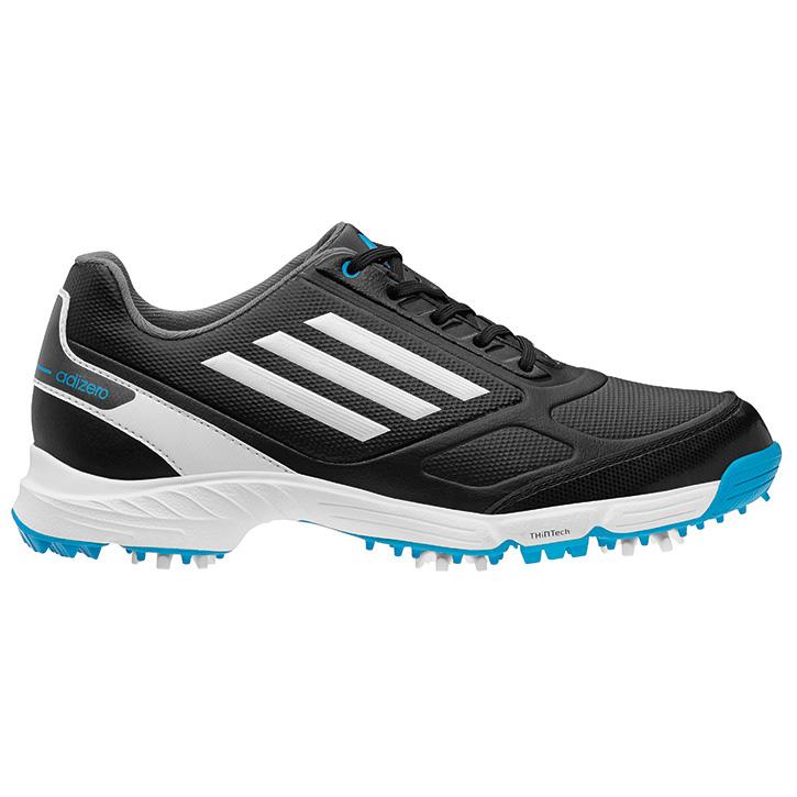 adidas adizero golf shoes junior black white blue at