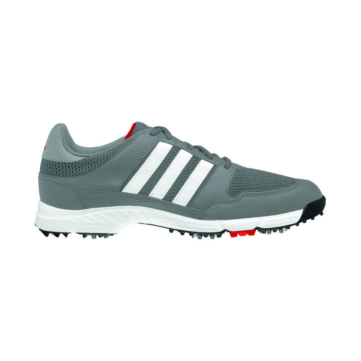 Adidas Tech Response 4.0 Golf Shoes - Mens Iron/Silver/White