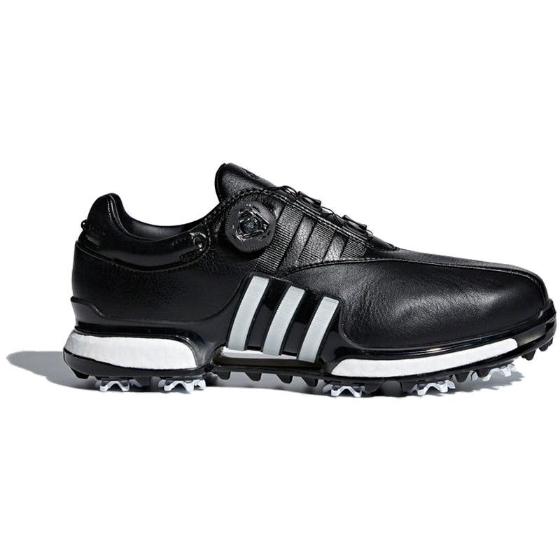 2018 Adidas Tour 360 EQT BOA Golf Shoes - Black/White