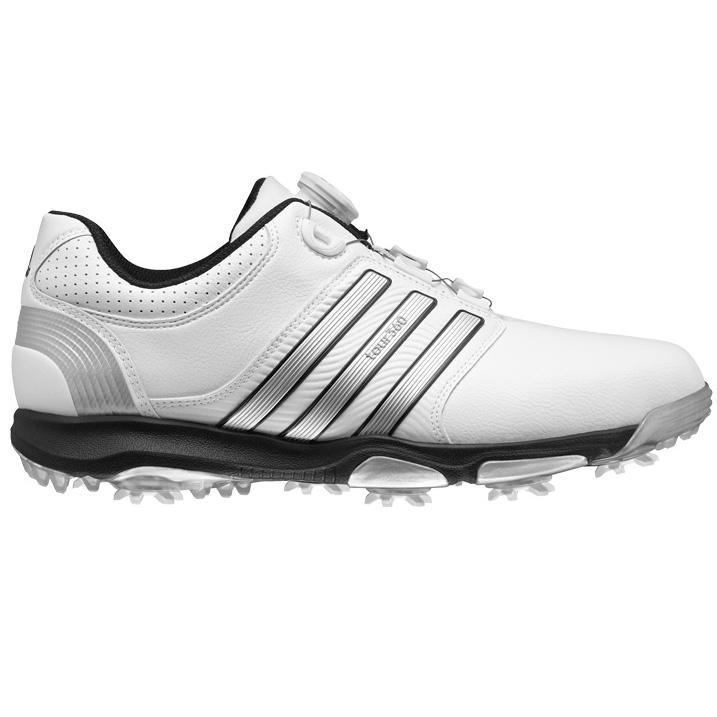 Adidas Tour 360 X Boa Golf Shoes - White