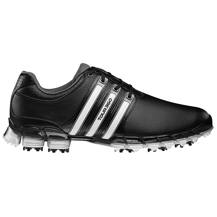 Adidas Men S Black White Tour  Atv M Golf Shoe