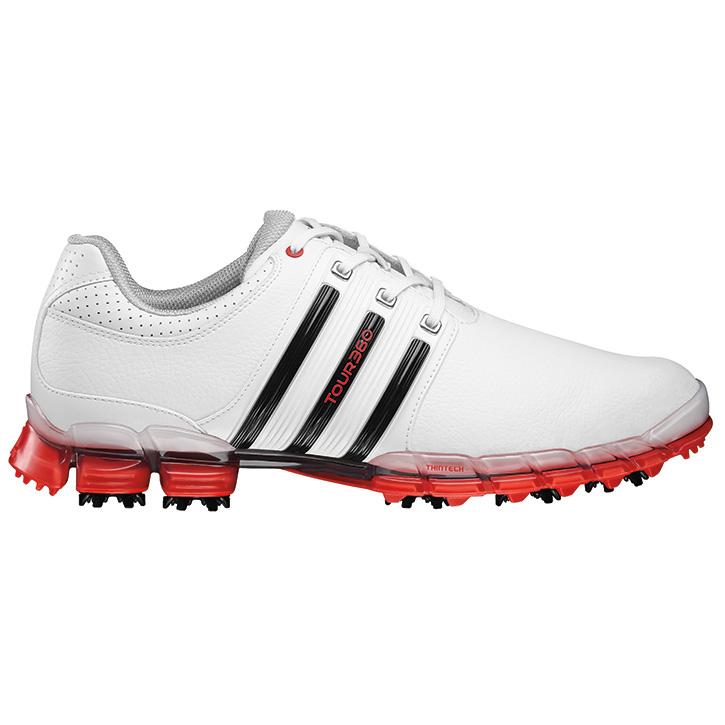 Home > Adidas Tour 360 ATV M1 Golf Shoes - Men's White/Black/Red