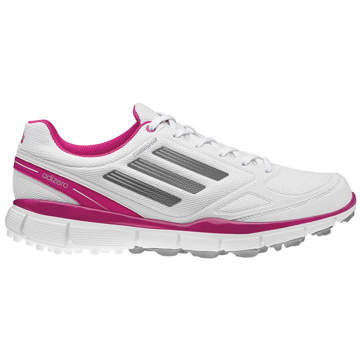 Adidas Adizero Sport II Golf Shoes - Women's White/Silver/Magenta at  InTheHoleGolf.com