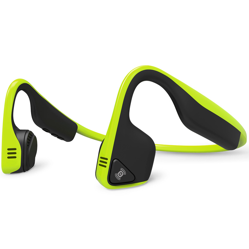 AfterShokz Trekz Titanium - Bone Conduction Bluetooth Wireless Headphones - Ivy Green