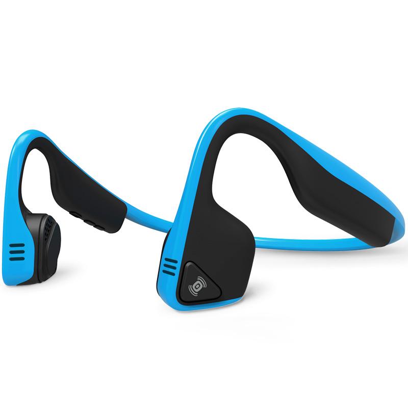 AfterShokz Trekz Titanium - Bone Conduction Bluetooth Wireless Headphones - Ocean Blue