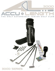 AccuLength 3000 Series Junior Golf Set