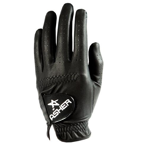 Asher Chuck Golf Glove - Midnight Black