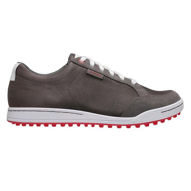 Ashworth Cardiff Golf Shoes - Mens Iron/White/Toro