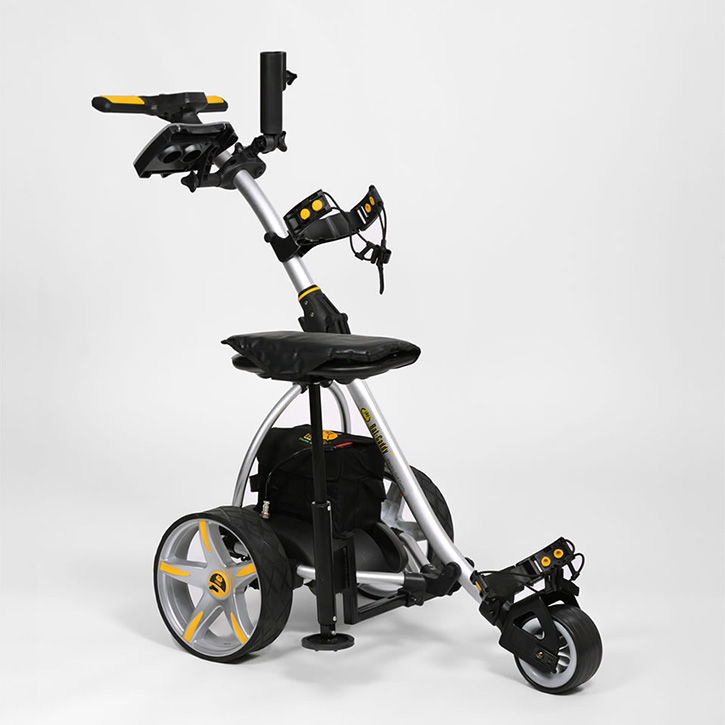 Bat-Caddy X3 Electric Push Cart w/ Free Accessory Kit at ... on