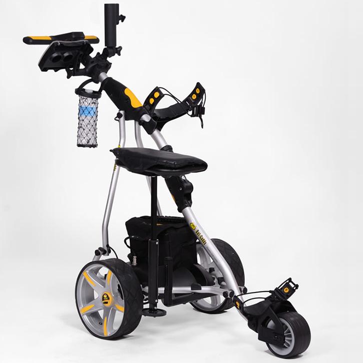 Bat-Caddy X3 Pro Electric Push Cart w/ Free Accessory Kit