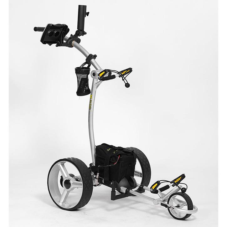 Bat-Caddy X4 Sport Electric Push Cart w/ Free Accessory Kit