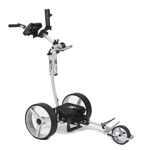 Bat Caddy X4 Classic Electric Golf Push Cart w/Free Accessory Kit