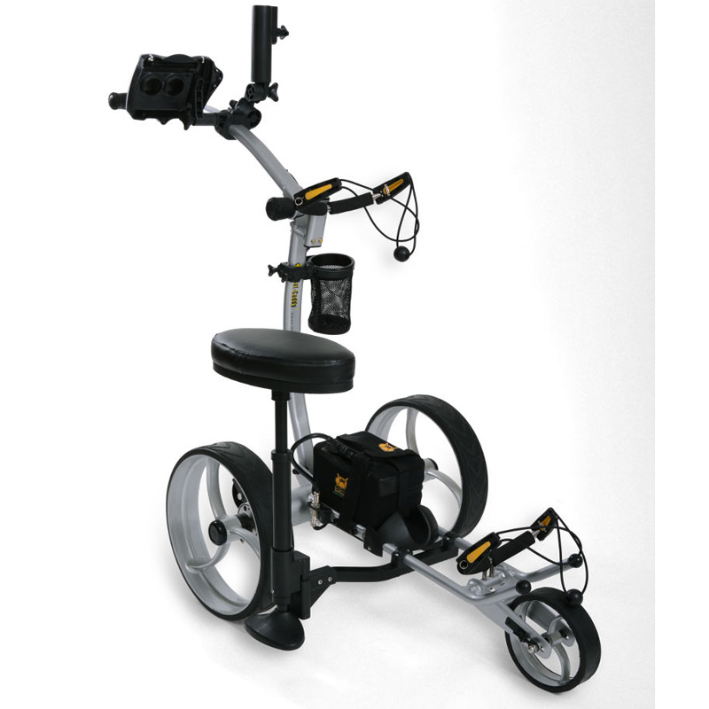 Bat Caddy X8 Pro Electric Golf Push Cart At