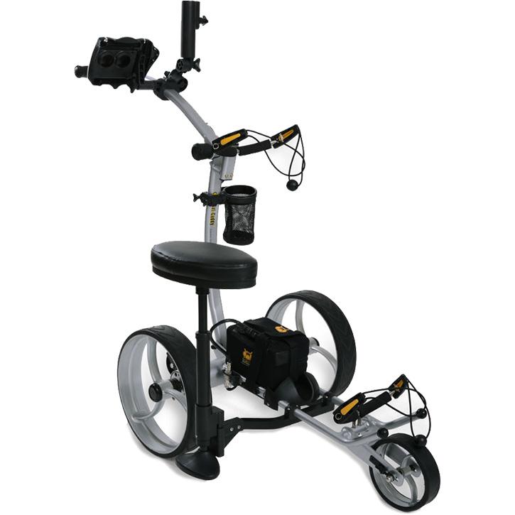 2019 Bat-Caddy X8R Electric Golf Trolley - Ultimate Accessory Bundle with Garmin GPS