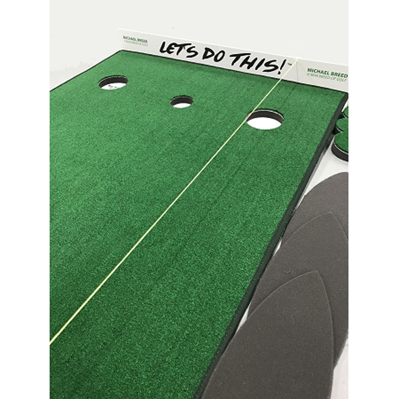"Big Moss Michael Breed ""Lets Do This"" Golf Putting Aid"