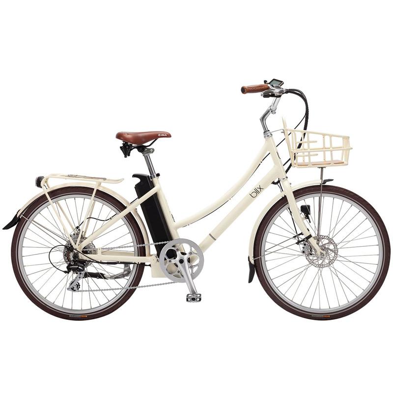 Blix Aveny Step Thru Electric Bicycle - Cream