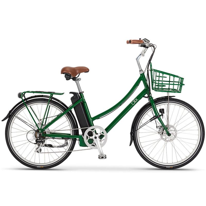 Blix Aveny Step Thru Electric Bicycle - Racing Green