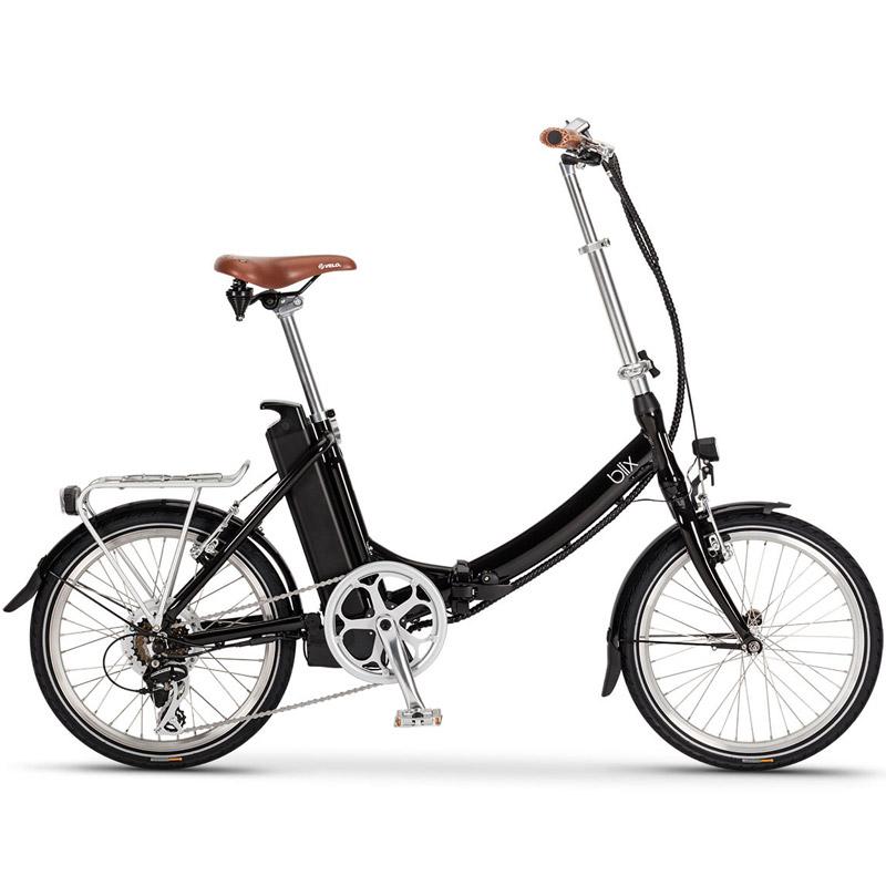 Blix Vika+ Folding Electric Bicycle - Black